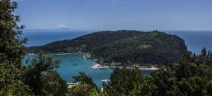 Vista dal rifugio, Isola di Palmaria