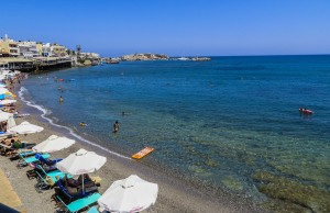 Spiaggia di Hersonissos. quelliconlavaligia