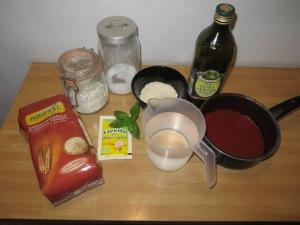 ingredienti Montanare alla napoletana. Quelli con la valigia