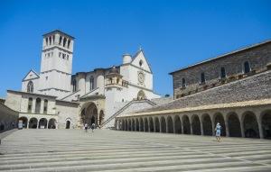 Assisi-Basilica san francesco-quelliconlavaligia