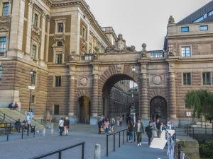 arco palazzo reale stoccolma-quelliconlavaligia
