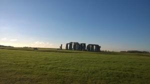 Stonehenge panorame Quelli con la valigia