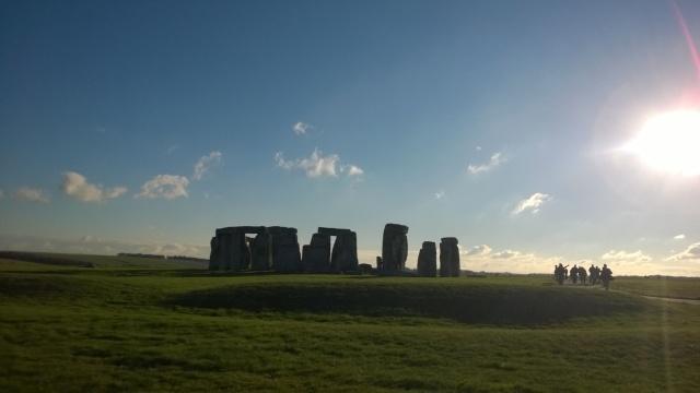 Stonehenge Quelli con la valigia