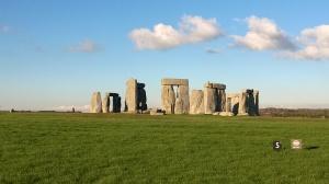 Stonehenge Sole quelli con la valigia
