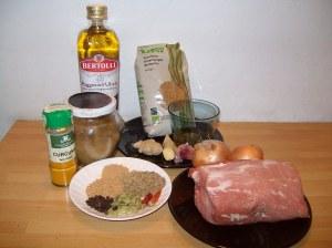 Ingredienti Pollo Vindaloo Quelli con la Valigia